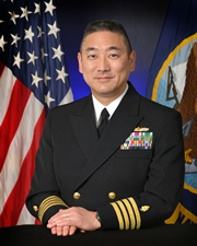 Capt. Anthony A. Arita, Deployment Health Clinical Center director